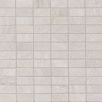 "Purestone 1"" x 2"" Floor and Wall Mosaic in Grigio"