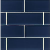 "Adamas 4"" x 12"" x 3/8"" Wall Tile in Azura"