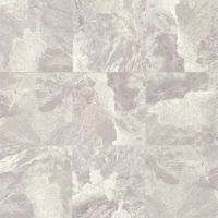 "Classic 18"" x 18"" x 3/8"" Floor and Wall Tile in Bardiglietto"