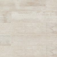 "Crate 8"" x 48"" x 3/8"" Floor and Wall Tile in Colonial White"
