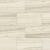 "Zebrino 12"" x 48"" x 3/8"" Floor and Wall Tile in Calacatta"