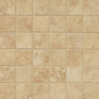 "Roma 2"" x 2"" Floor and Wall Mosaic in Camel"