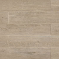 "European 8"" x 48"" x 3/8"" Floor and Wall Tile in London Light Oak"
