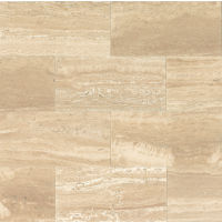 "Aymaran Cream 18"" x 36"" x 3/8"" Floor and Wall Tile"