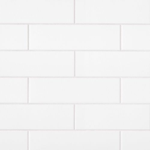 "Traditions 4"" x 16"" Wall Tile in Ice White"