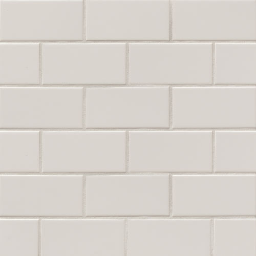 "Traditions 3"" x 6"" x 1/4"" Wall Tile in Tender Gray"