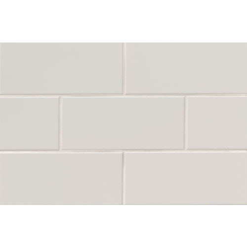 "Traditions 4"" x 10"" Wall Tile in Tender Gray"
