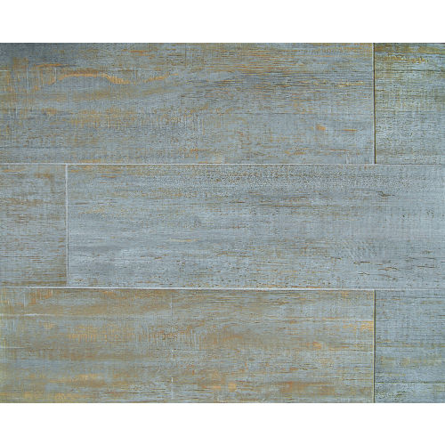 "Barrique 8"" x 24"" Floor & Wall Tile in Bleu"