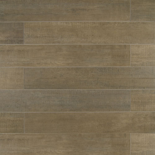 "Barrique 4"" x 24"" x 3/8"" Floor and Wall Tile in Gris"