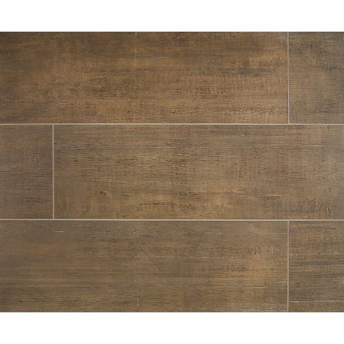 "Barrique 8"" x 24"" Floor & Wall Tile in Vert"