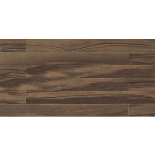 "Epic 4"" x 40"" x 3/8"" Floor and Wall Tile in Dark Brown"