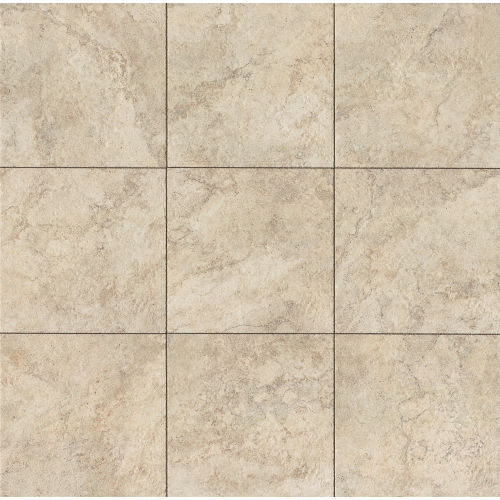 "Forge 20"" x 20"" x 3/8"" Floor and Wall Tile in White"