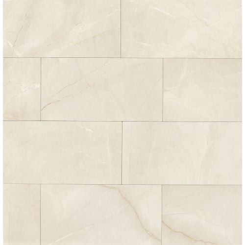"Pulpis 12"" x 24"" Floor & Wall Tile in Bianco"