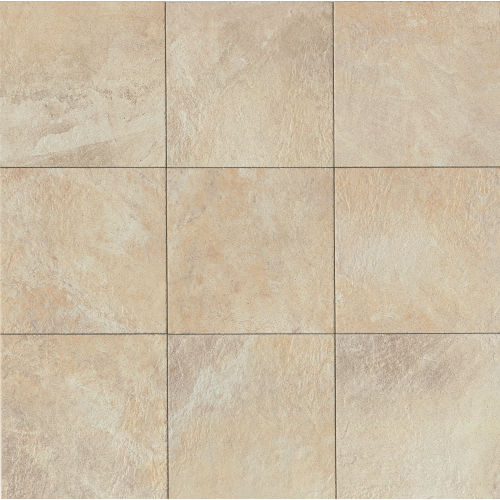 "Rok 13"" x 13"" Floor & Wall Tile in Almond"