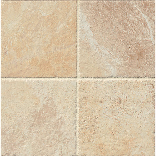"Rok 6.5"" x 6.5"" Floor & Wall Tile in Almond"