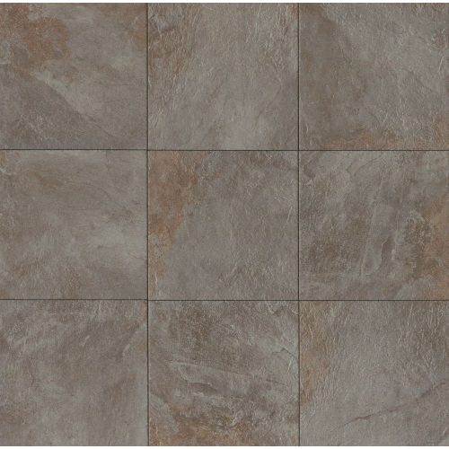 "Rok 20"" x 20"" x 3/8"" Floor and Wall Tile in Nero"