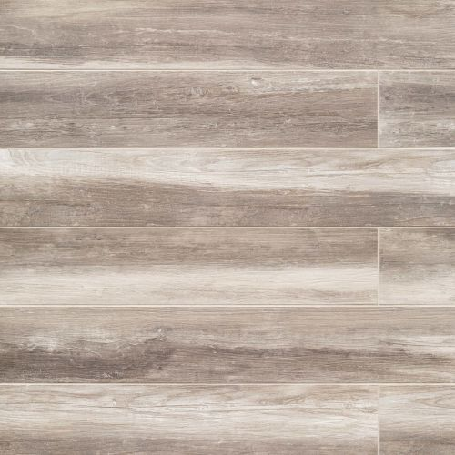 "Shine 8"" x 48"" Floor & Wall Tile in Ivory"