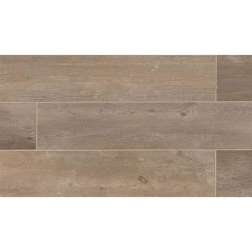 "Tahoe 8"" x 40"" Floor & Wall Tile in Trail"