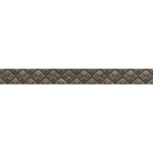 "Ambiance 1.25"" x 12"" Trim in Brushed Nickel"