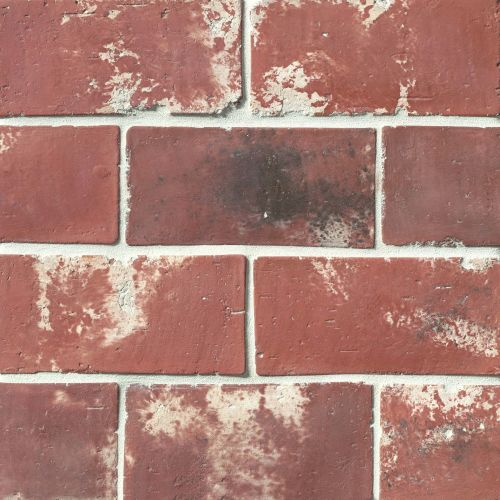 "Avondale 4"" x 8"" Floor & Wall Tile in Used Red"