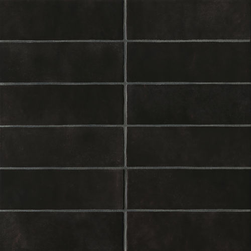"Cloe 2.5"" x 8"" Wall Tile in Black"