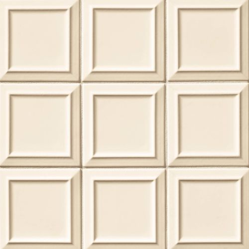 "Costa Allegra 6"" x 6"" Decorative Tile in Alabaster"