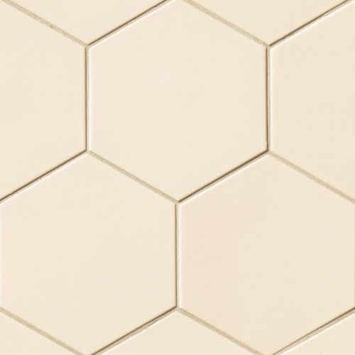 "Costa Allegra 8"" x 8"" x 3/8"" Floor and Wall Tile in Alabaster"