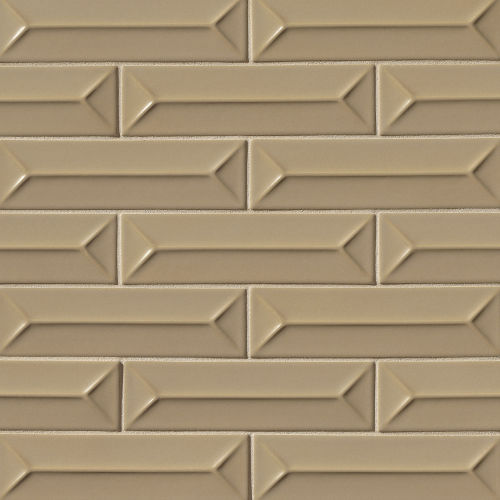 "Costa Allegra 2.5"" x 9"" Decorative Tile in Driftwood"