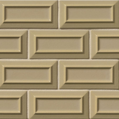 "Costa Allegra 3"" x 6"" Decorative Tile in Driftwood"