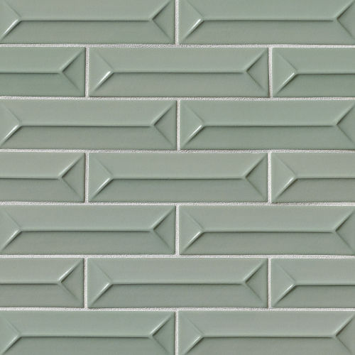 "Costa Allegra 2.5"" x 9"" Decorative Tile in Gulf"