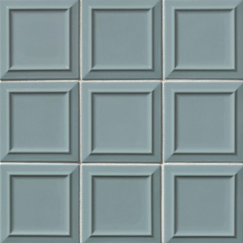 "Costa Allegra 6"" x 6"" Decorative Tile in Tide"