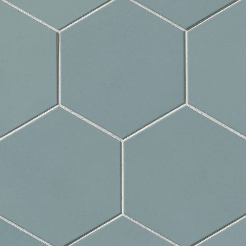 "Costa Allegra 8"" x 8"" x 3/8"" Floor and Wall Tile in Tide"