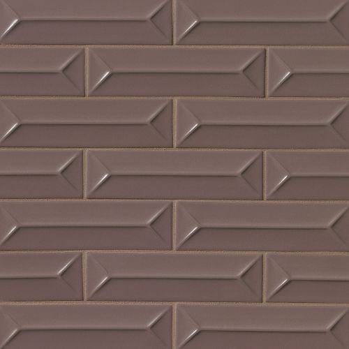 "Costa Allegra 2.5"" x 9"" Decorative Tile in Timber"