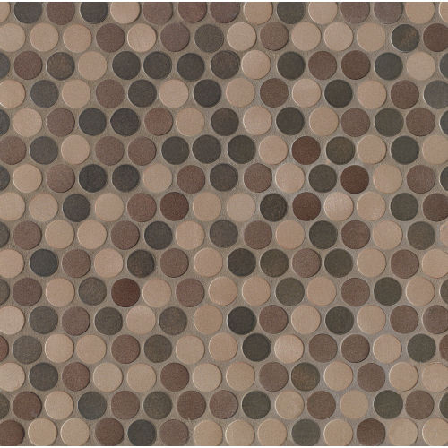 Montane Wall Mosaic in Bronze