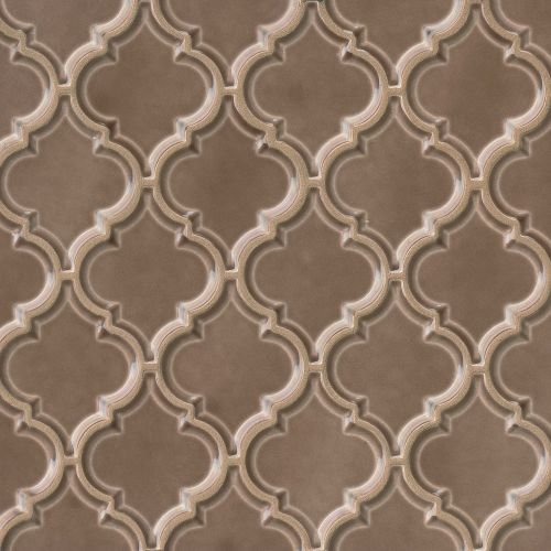 "Provincetown 5-1/8"" x 4-1/16"" Wall Mosaic in Brewster Brown"