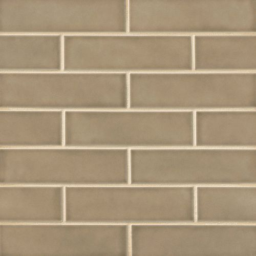 "Provincetown 2.5"" x 9"" x 3/8"" Floor and Wall Tile in Highland Brown"