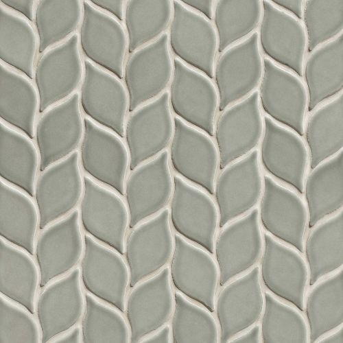 "Provincetown 2-13/16"" x 1-7/16"" Floor & Wall Mosaic in Monument Grey"