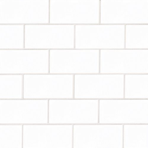 "Provincetown 3"" x 6"" Floor & Wall Tile in Porch White"