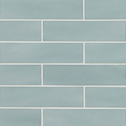 "Provincetown 4"" x 16"" Floor & Wall Tile in Surfside Blue"