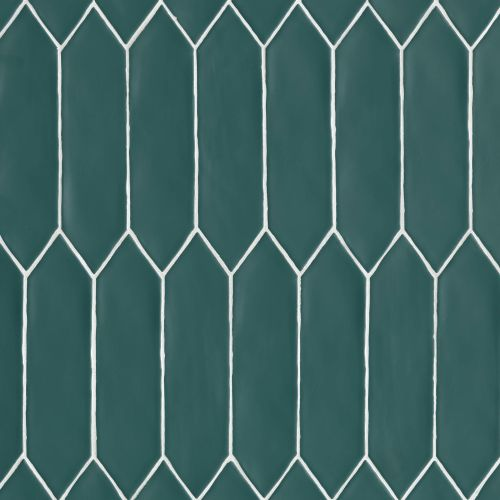 "Reine 3"" x 12"" Wall Tile in Dark Teal"