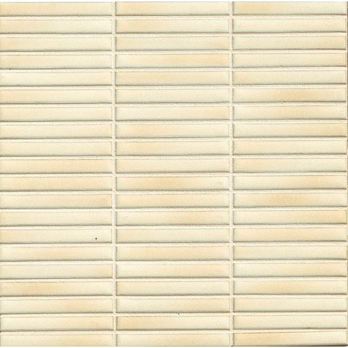 "Shizen 1/2"" x 4"" Floor & Wall Mosaic in Sand"