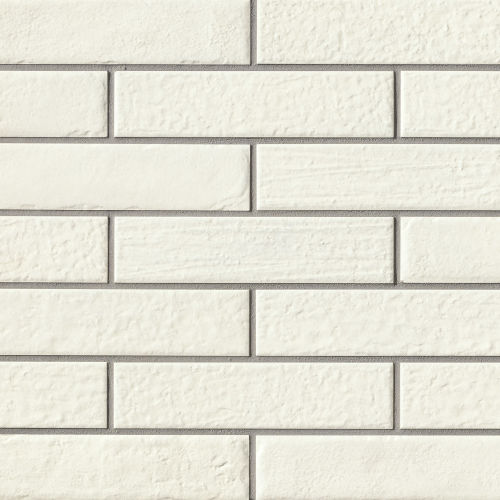 "Urbanity 2.5"" x 10"" Floor & Wall Tile in White"