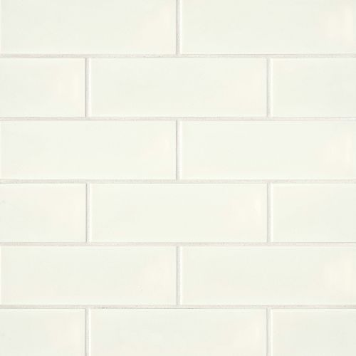 "Grace 4"" x 12"" x 1/4"" Wall Tile in Panna"