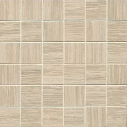 "Matrix 2"" x 2"" Floor & Wall Mosaic in Classic Tan"
