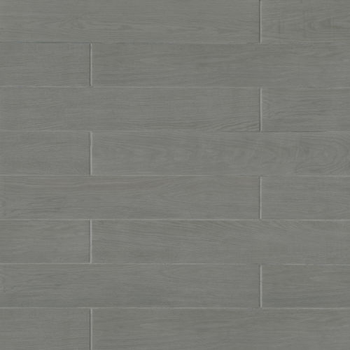 "Woodmark 6.13"" x 35.69"" x 3/8"" Floor and Wall Tile in Grey"