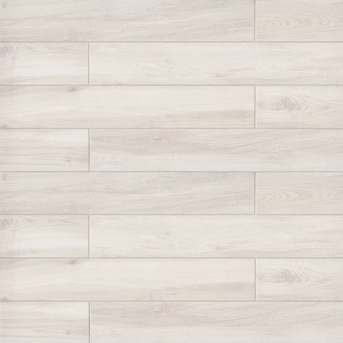 "Refined 6"" x 36"" Floor & Wall Tile in White"