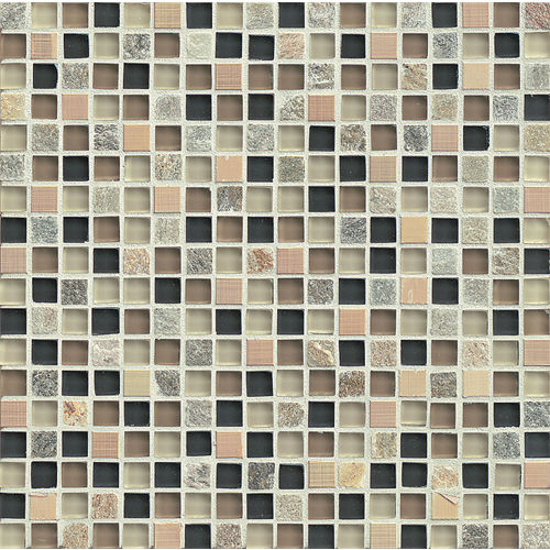 "Elume 5/8"" x 5/8"" Wall Mosaic in Boardwalk"