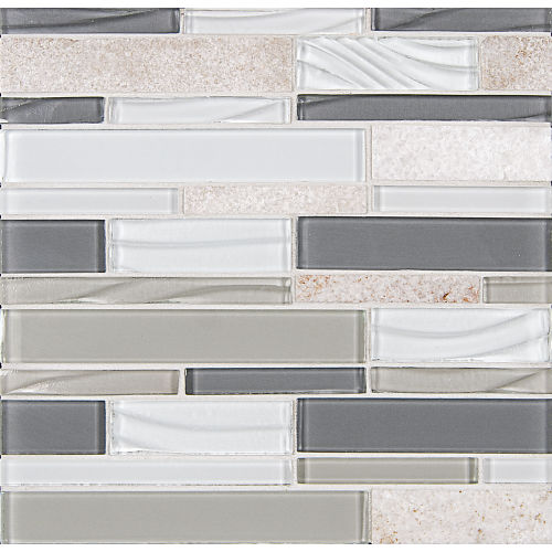 Elume Wall Mosaic in Heather Grey