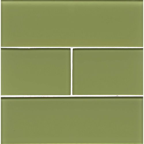 "Hamptons 4"" x 12"" Wall Tile in Reed"