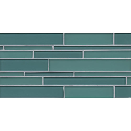 Hamptons Wall Mosaic in Wave